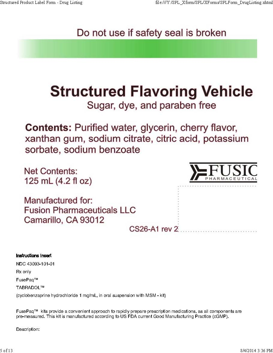 Structured Flavor vehicle label