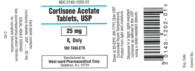 Cortisone Acetate Tablet [West-ward Pharmaceutical Corp]