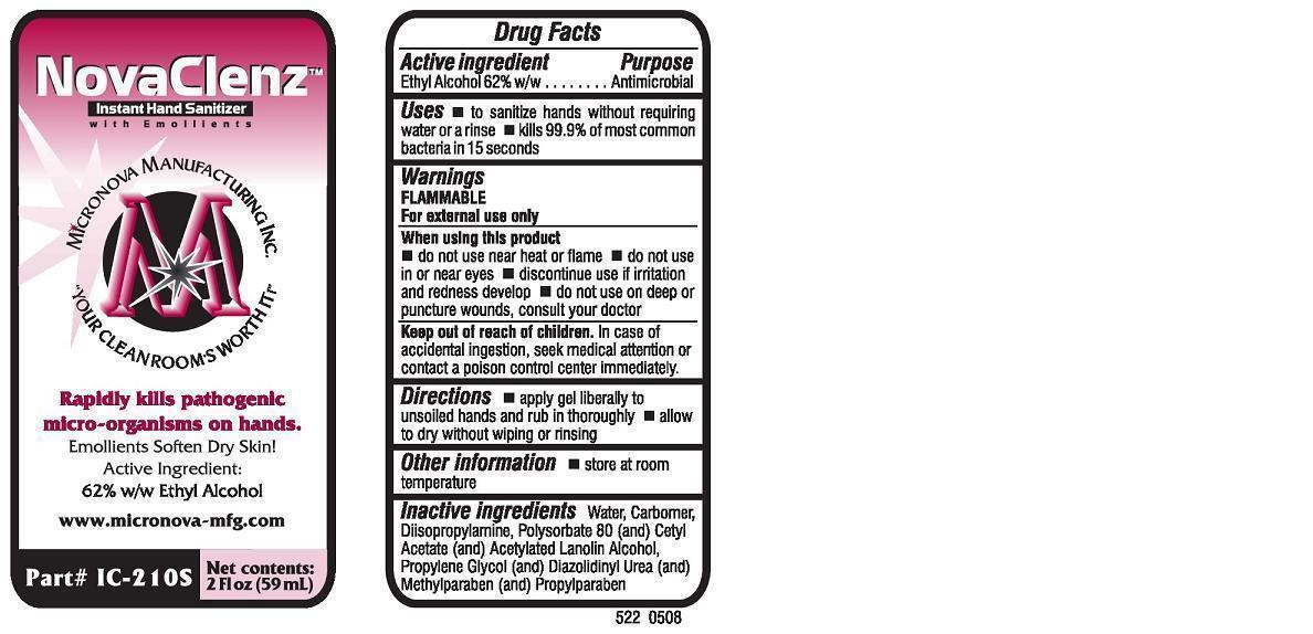 Novaclenz Instant Hand Sanitizer (Alcohol) Soap [Micronova]
