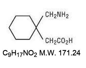 Gabapentin Capsules Structural Formula