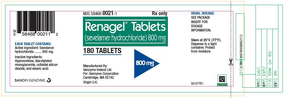 Bottle Label - Principal Display Panel – 800 mg (U.S. Source)