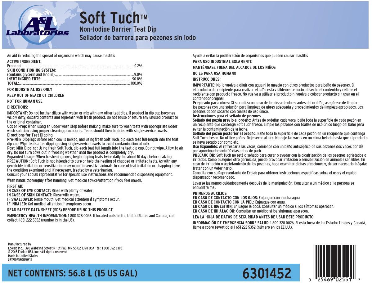Soft Tuch (Bronopol) Solution [Ecolab Inc.]