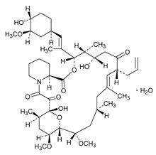 Tacrolimus 1 mg Capsules Unit Carton Label