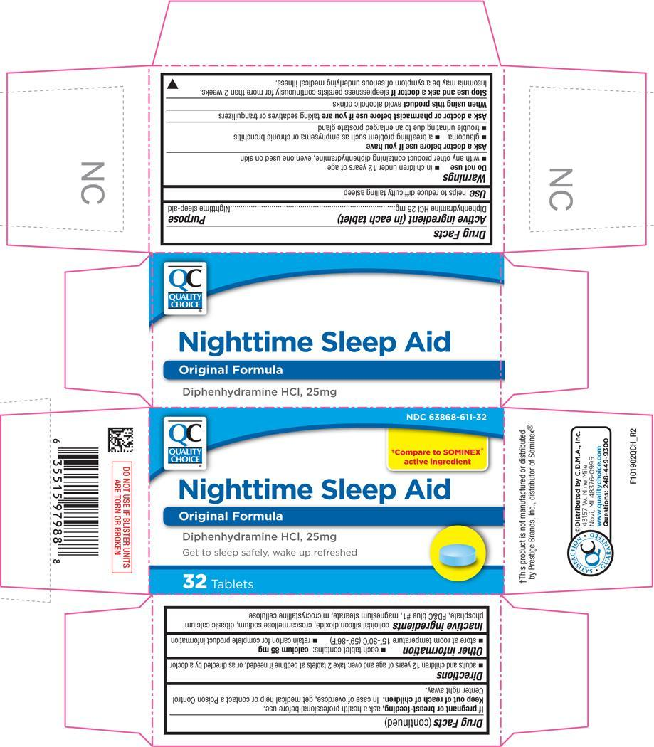 Nighttime Sleep Aid (Diphenhydramine Hydrochloride) Tablet [Chain Drug Marketing Association]