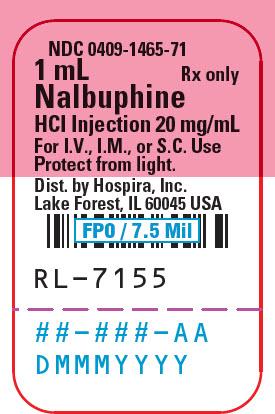 Label NDC 0409-1465-01