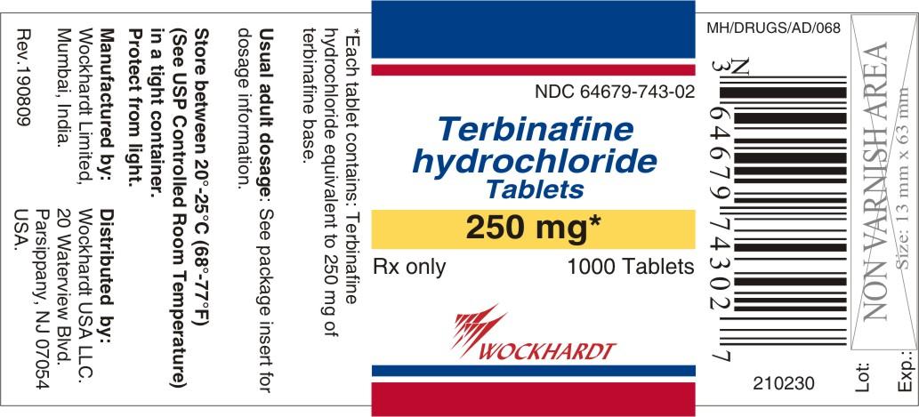Terbinafine Hydrochloride Tablet [Wockhardt Limited]