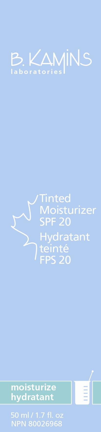 Tinted Moisturizer Spf 20 (Zinc Oxide Titanium Dioxide) Cream [Kamins Dermatologics Inc.]