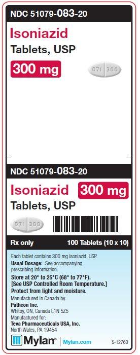Isoniazid Tablet [Mylan Institutional Inc.]