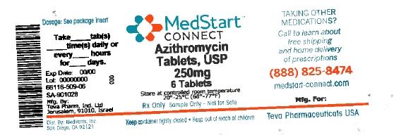Azithromycin Tablet, Film Coated [Medvantx, Inc.]