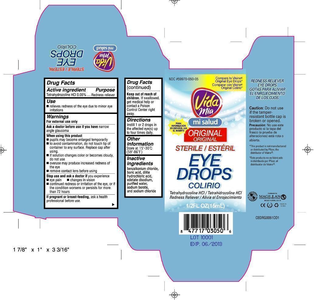 Redness Reliever (Tetrahydrozoline Hcl) Liquid [Navarro Discount Pharmacies,llc]