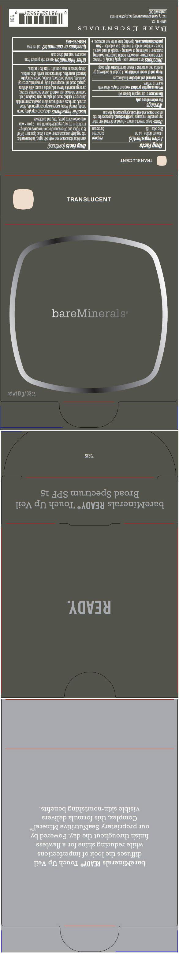 Principal Display Panel - 10 g Tray Carton -Translucent