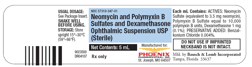 Neomycin Polymyxin B Sulfates And Dexamethasone (Neomycin Sulfate, Polymyxin B Sulfate And Dexamethasone) Suspension/ Drops [Phoenix Pharmaceutical, Inc.]