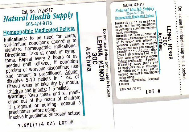 Asthma (Lemna Minor) Pellet [Natural Health Supply]
