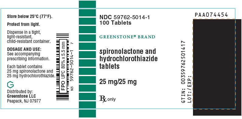 Spironolactone And Hydrochlorothiazide Tablet, Film Coated [Greenstone Llc]