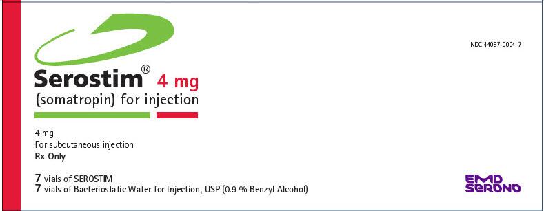 PRINCIPAL DISPLAY PANEL - 4 mg Kit Carton