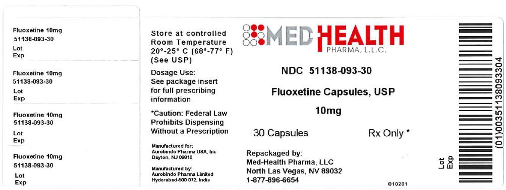 Fluoxetine (Fluoxetine Hydrochloride) Capsule [Med-health Pharma, Llc]