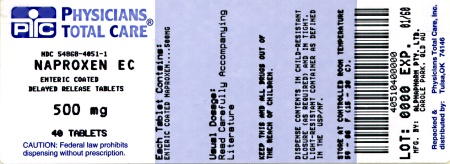 image of 500 mg package label