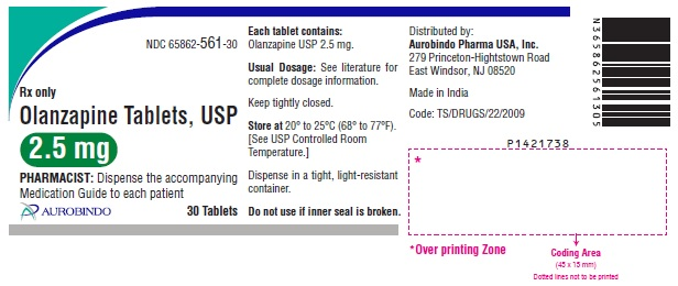 PACKAGE LABEL-PRINCIPAL DISPLAY PANEL - 2.5 mg (30 Tablets Bottle)