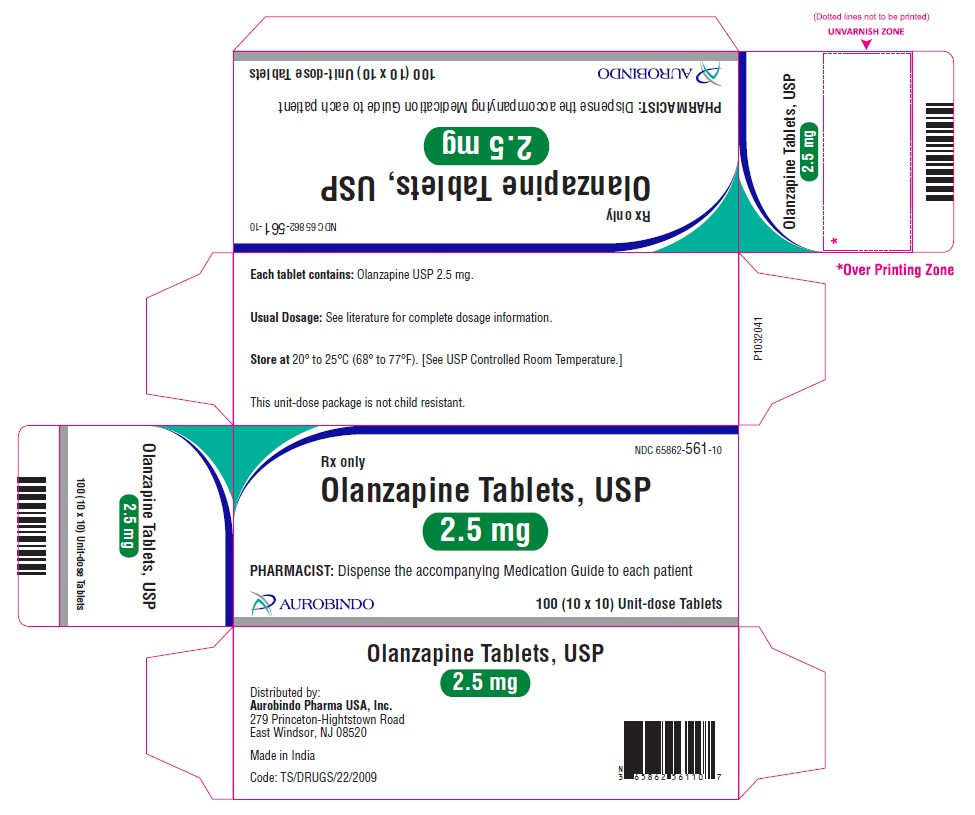 PACKAGE LABEL-PRINCIPAL DISPLAY PANEL - 2.5 mg Blister Carton (10 x 10 Unit-dose)