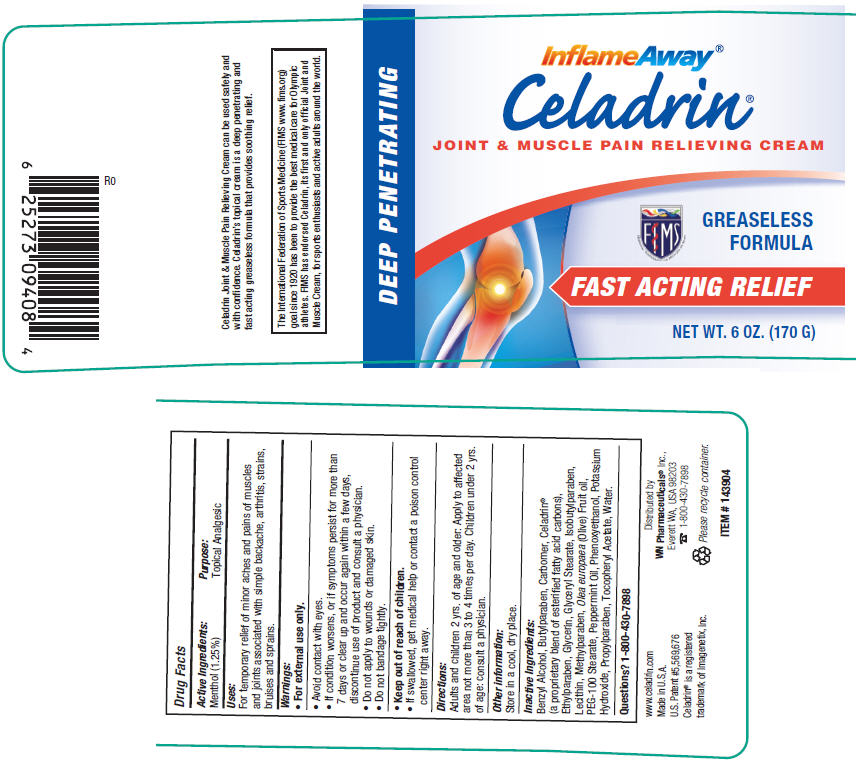 Celadrin Joint And Muscle Pain Relieving (Menthol) Cream [Factors Group Of Nutritional Products]