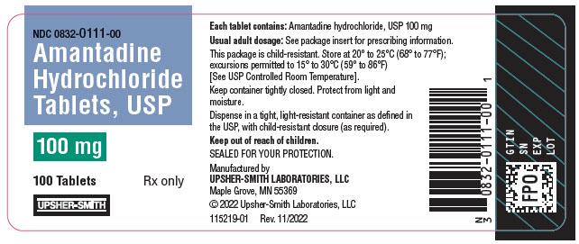 Amantadine Hydrochloride Tablet [Upsher-smith Laboratories, Inc]
