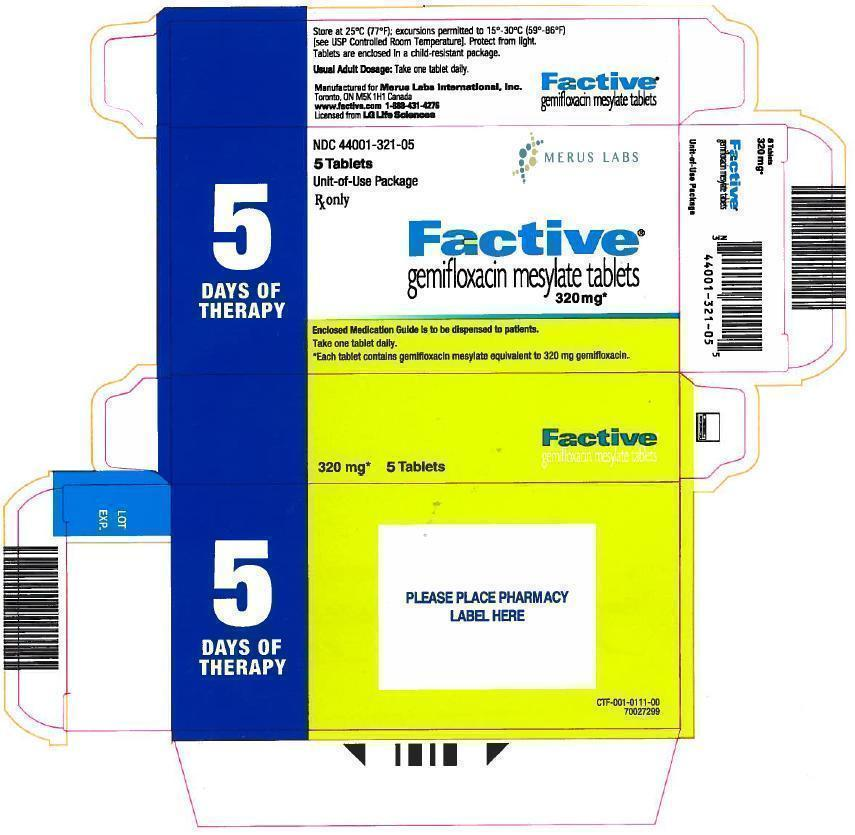 Factive 5 Tablets