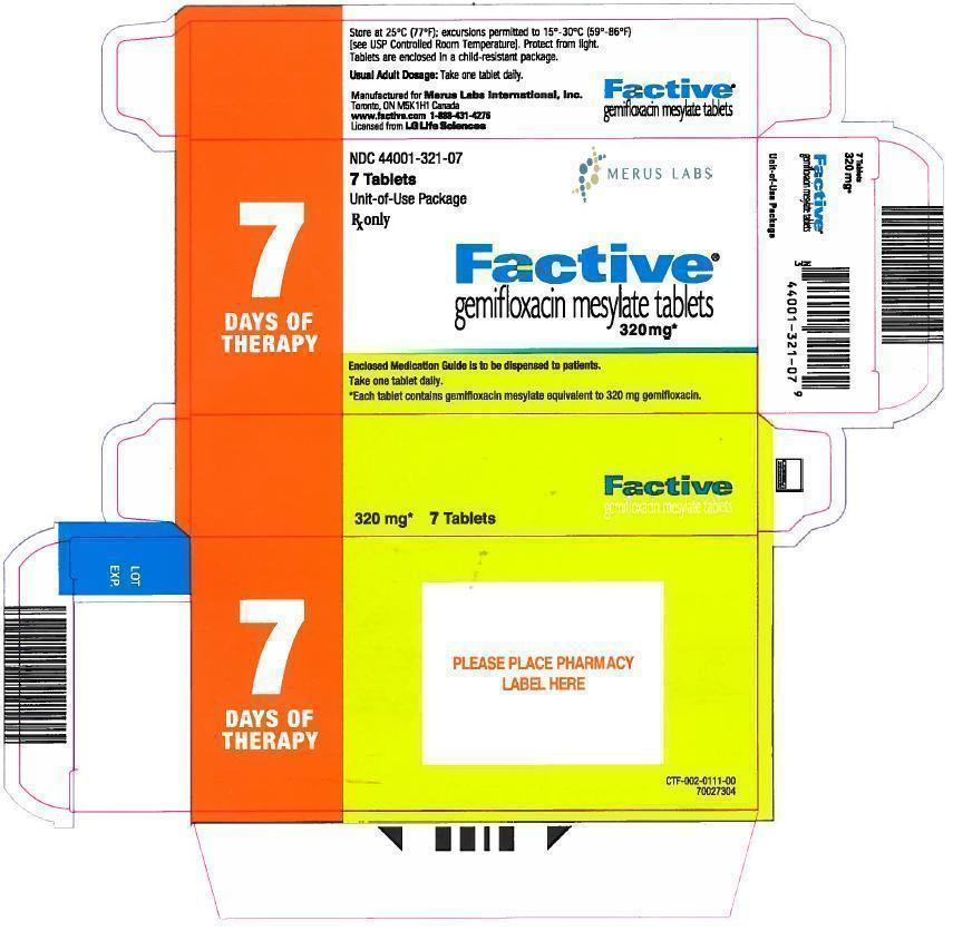 Factive 7 Tablets