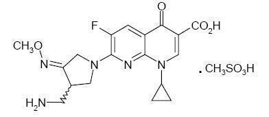 Gemifloxacin Mesylate