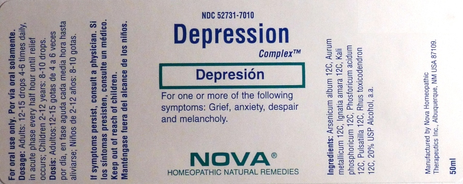 Depression Complex Bottle