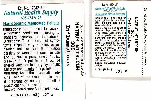 Inflammations (Sodium Nitrate) Pellet [Natural Health Supply]