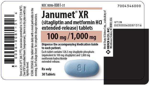 PRINCIPAL DISPLAY PANEL - 100 mg/1,000 mg Tablet Bottle Label