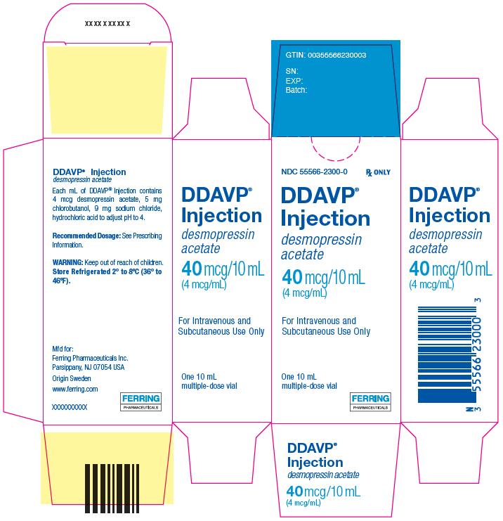 Ddavp (Desmopressin Acetate) Injection [Ferring Pharmaceuticals Inc.]