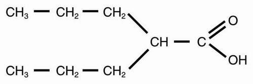 Valproic Acid structure