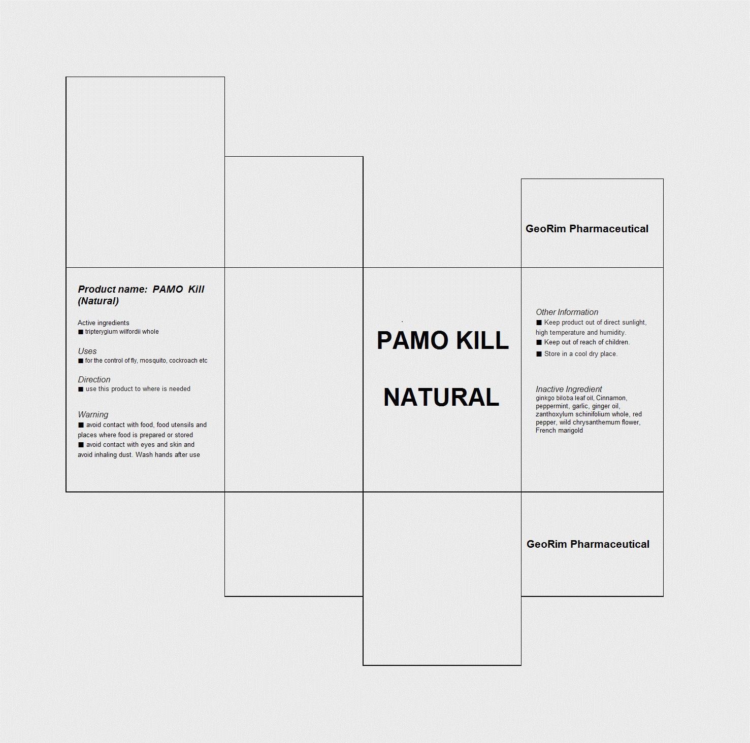 Pamo Kill Natural (Tripterygium Wilfordii Whole) Liquid [Georim Pharmaceutical]