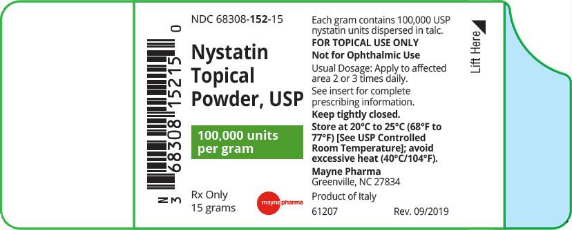 Nystatin Powder [Midlothian Laboratories, Inc.]