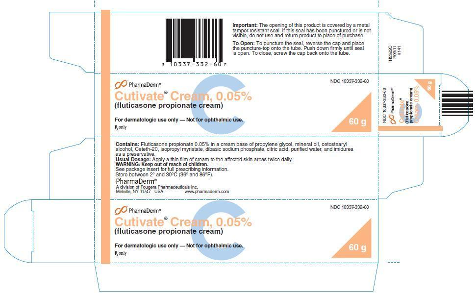 Cutivate (Fluticasone Propionate) Cream [Pharmaderm A Division Of Fougera Pharmaceuticals Inc.]