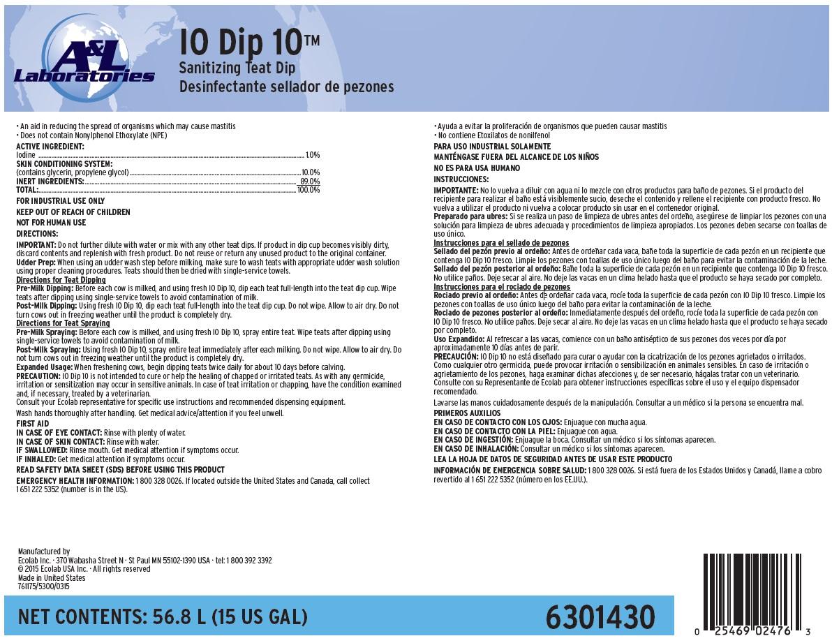 Iodip (Iodine) Solution [Ecolab Inc.]