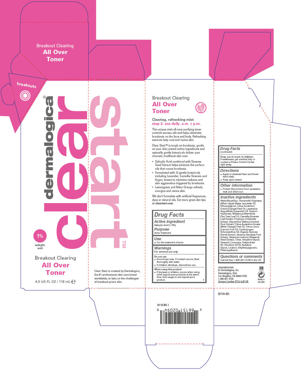 Breakout Clearing All Over Toner (Salicylic Acid) Liquid [Dermalogica, Inc.]