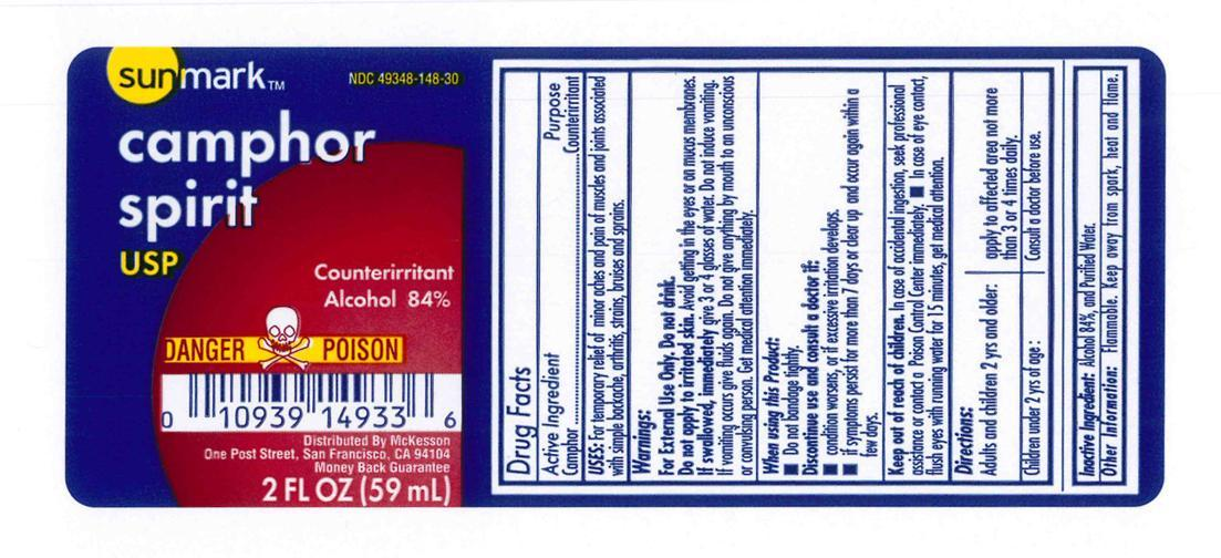 Sunmark Camphor Spirit (Camphor 10%) Liquid [Mckesson]