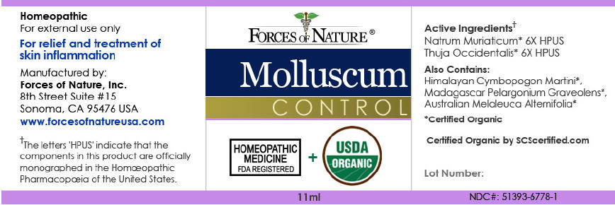 Molluscum Control (Thuja Occidentalis Leafy Twig And Sodium Chloride) Solution/ Drops [Forces Of Nature]