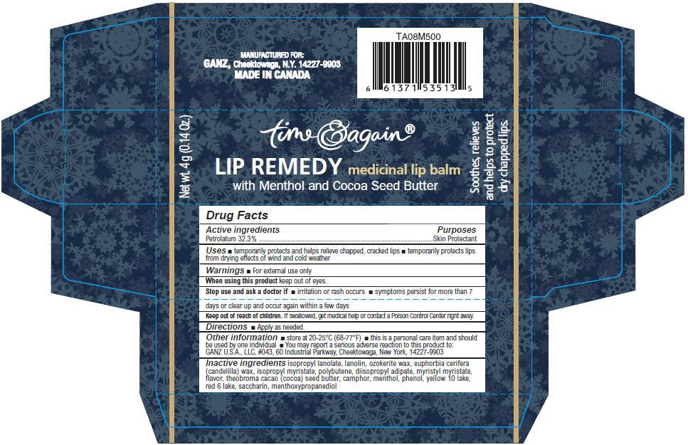 Lip Remedy Medicinal Lip Balm (Petrolatum) Stick Lip Remedy Medicinal Lip Balm (Petrolatum) Stick Lip Remedy Medicinal Lip Balm (Petrolatum) Stick [Norwood Packaging Ltd.]