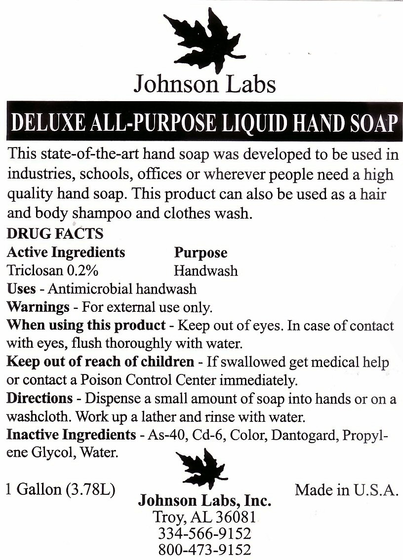 Deluxe All-Purpose Liquide Hand Soap