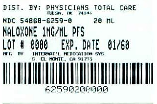 image of 1 mg/mL package label