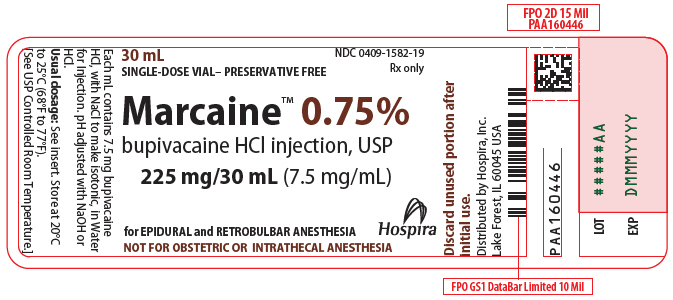 PRINCIPAL DISPLAY PANEL - 225 mg/30 mL Vial Label