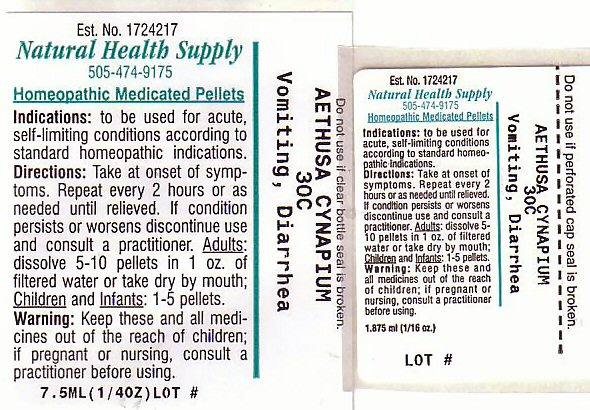 Vomiting Diarrhea (Aethusa Cynapium) Pellet [Natural Health Supply]