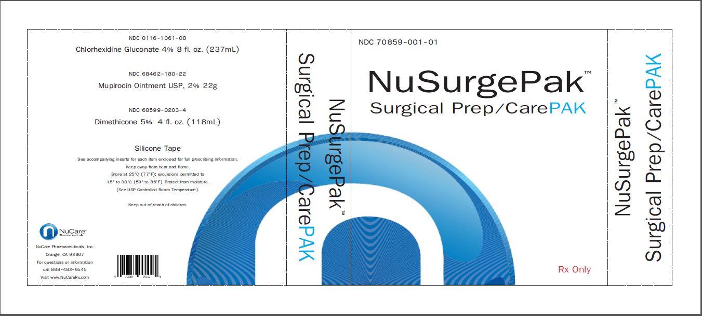 NuSurgePak Surgical Prep/CarePAK