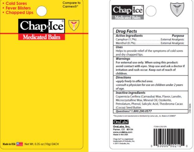 Chapice Medicated Balm (Camphor, Menthol) Gel [Oralabs]
