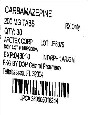 Label Image (Apotex) 200mg