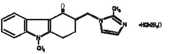 Ondansetron structural formula