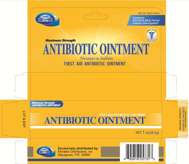Antibiotic (Neomycin Sulfate) Ointment [Morales Distributors Inc]